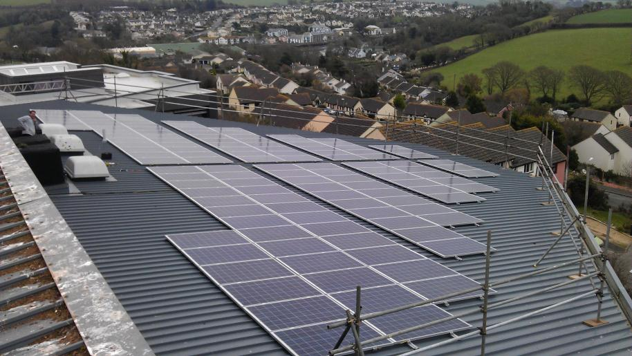 30 KW Solar PV install at Kingsbridge Community College